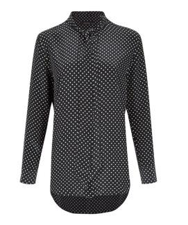 Kate Moss x Equipment blouse